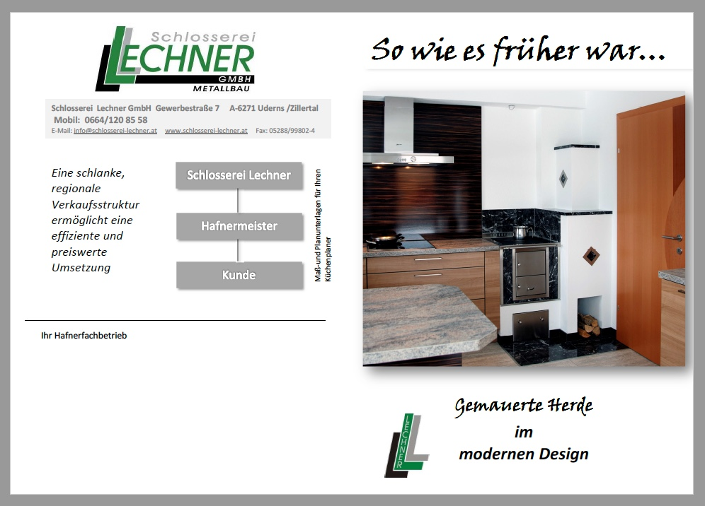 folder schlosserei lechner uderns